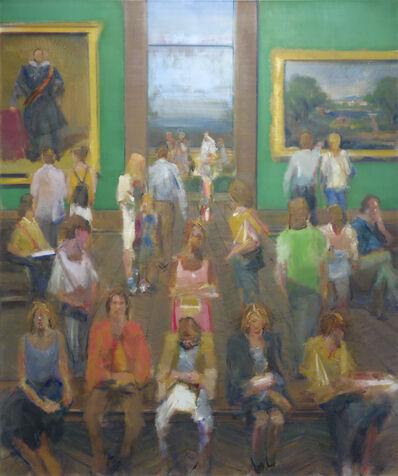 Simon Nicholas, 'National Gallery IV', 2015