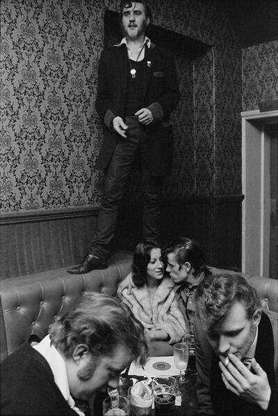 Chris Steele Perkins, 'Barry Ransome at The Castle. Old Kent Road, England. ', 1976