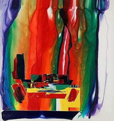 Paul Jenkins, 'Phenomena Wind at the Foot of the Anvil', 1988-1989