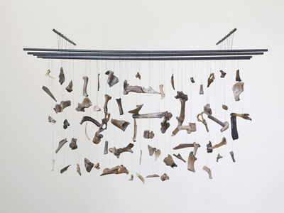 Franziska Lantz, 'Bones organ composition (Thames)', 2014