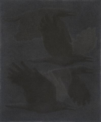 Johnny Izatt-Lowry, 'A Flock, at night', 2020
