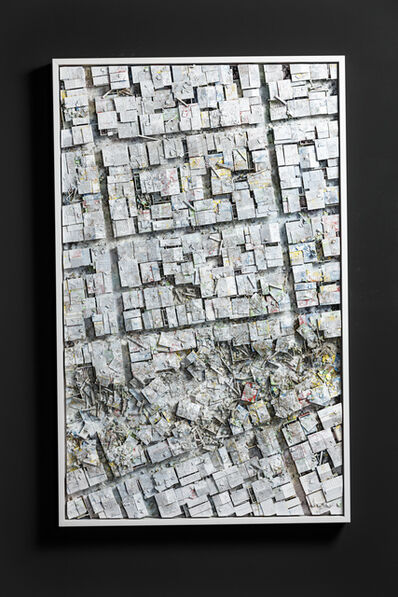 Hendrik Czakainski, 'White Angle II', 2020
