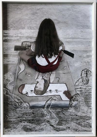 Sandra Ramos, 'Apocalyptic Cartographies, Charon', 2017