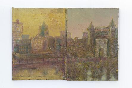 Merlin James, 'Bridge and River', 2018