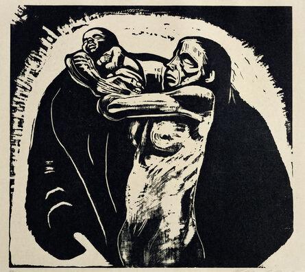 Käthe Kollwitz, 'The Sacrifice', 1922