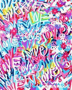 CHRIS RIGGS, 'Love Painting 6', 2018