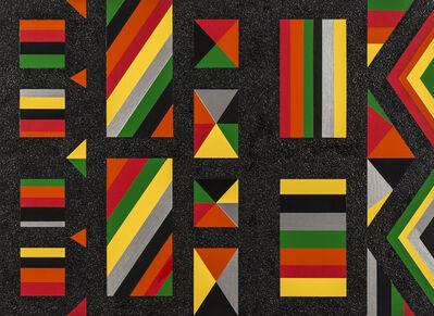 Rico Gatson, 'Untitled (Black Black)', 2016