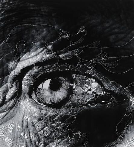 "Sebastiaan Bremer, 'Eye #11 (After Bill Brandt""s Henry Moore's eye, 1972)', 2012"