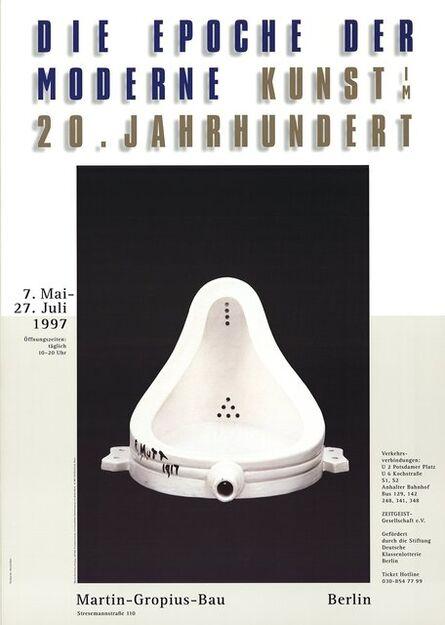 Marcel Duchamp, 'Fountain', 1997
