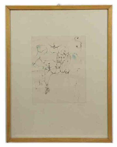 Hans Bellmer, 'Interior with figure', 1971