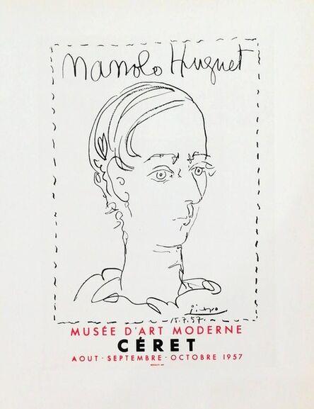 Pablo Picasso, 'Manolo Hugnet', 1959