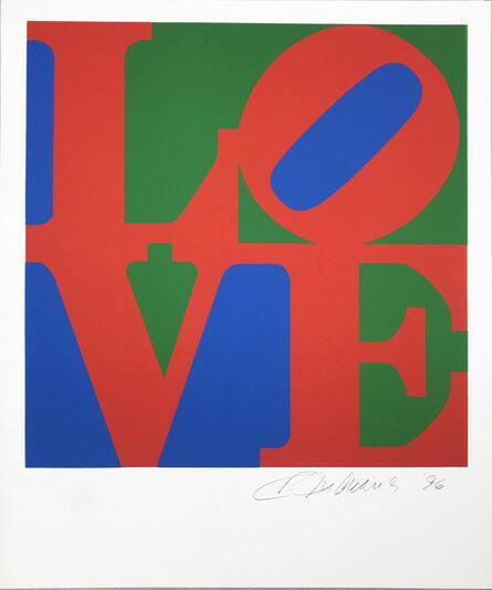Robert Indiana, 'The Book of Love 7', 1996