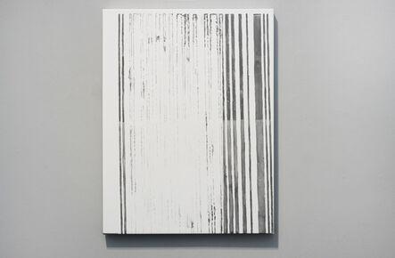 Ana Bidart, 'Pasaporte detail (barcode)', 2014