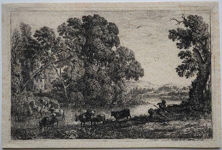 Claude Lorrain, 'Le Bouvier', 1636