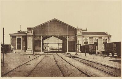 Édouard Baldus, 'Toulon, Gare', 1861 or later