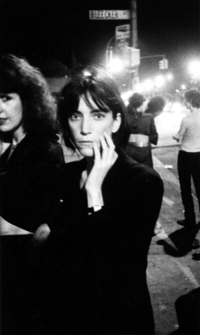 Godlis, 'Patti Smith, Bowery', 1976 (printed later)