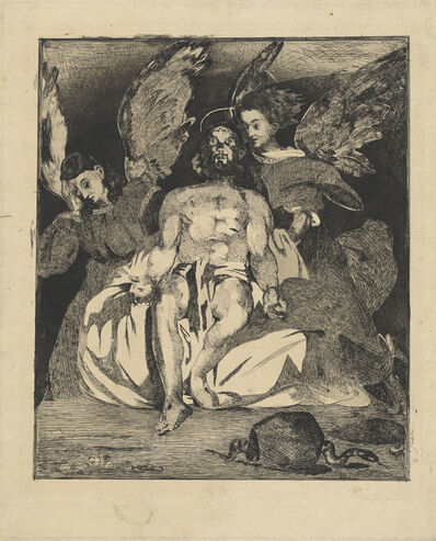 Édouard Manet, 'Dead Christ with Angels (Christ aux anges)', 1866/1867