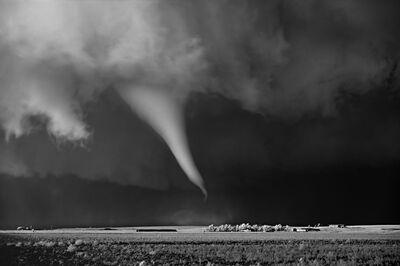 Mitch Dobrowner, 'White Tornado above Farm', 2016