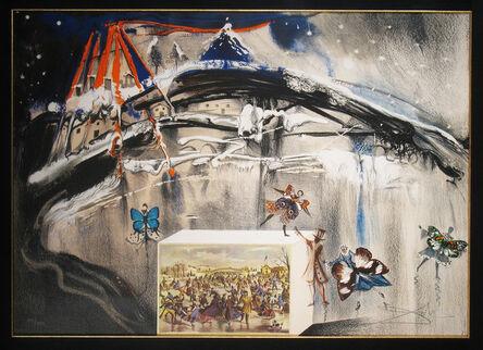 Salvador Dalí, 'New York Central Park Winter', 1971