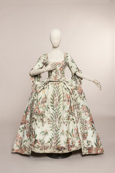 'French style gown', ca. 1760