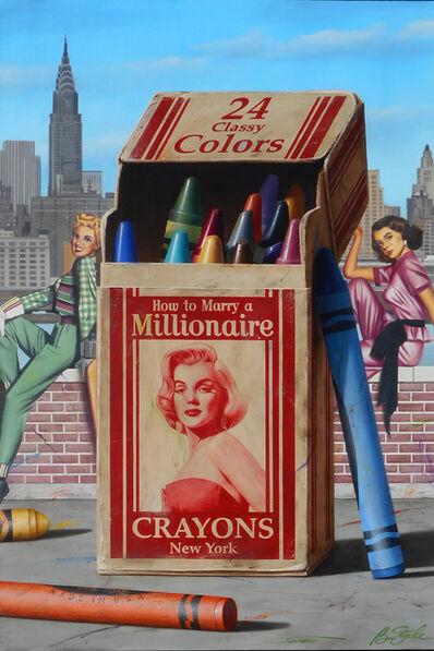 Ben Steele, 'Millionaire Crayons', 2020