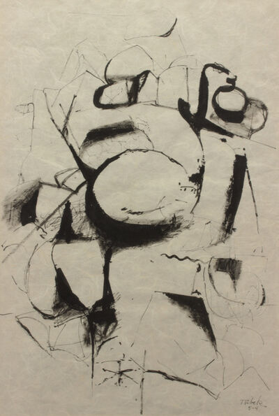 Louis Ribak, 'Untitled - Calligraphy', Unknown