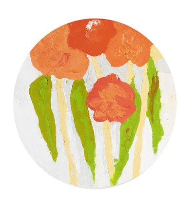 Etel Adnan, 'Jardins 17', 2018
