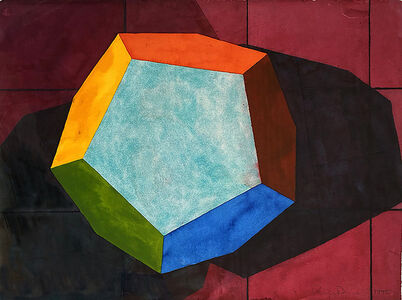 Ronald Davis, 'Dodecahedron II', 1995