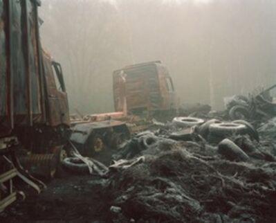 Jörn Vanhöfen, 'Feuer 71', 2006