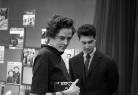 Eve Arnold, 'Inge Morath and Elliot Erwitt. New York City, USA. ', 1950
