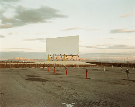 Richard Misrach, 'Drive-in Theater, Las Vegas', 1987