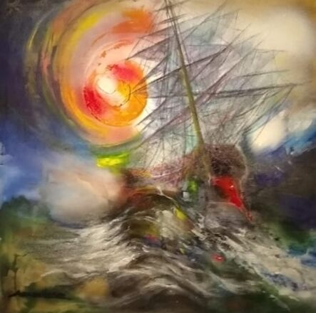 Ángel Caballero, 'Aguas del Golfo', 2019