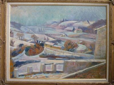 André Lhote, 'Miramande Sous La Neige/ Miramande under Snow', ca. 1933
