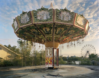 Andrew Moore, 'Zydeco Zinger, Six Flags, New Orleans, Louisiana', 2014