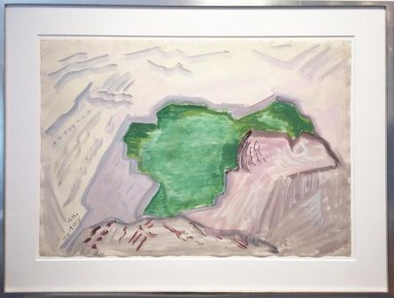 Milton Avery, 'Pool of Rocks', 1948