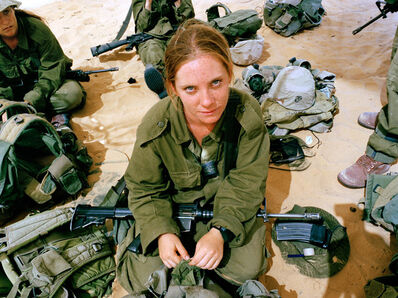 Rachel Papo, 'After throwing a grenade for the first time', 2005