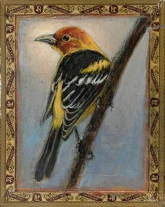 Ed Musante, 'Western Tanager/James Norman', 2018