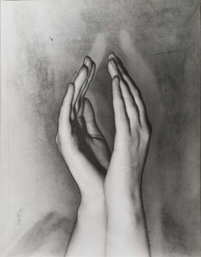Erwin Blumenfeld, 'Solarised hands, Amsterdam', ca. 1933