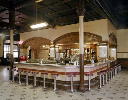 Jim Dow, 'Lunch Counter at Union Depot Railroad Station, Pueblo, Colorado', 1981