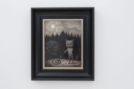 Marion Peck, 'Cat, Snake & Moon', 2020