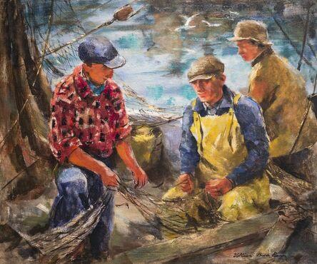 Vollian Rann, 'Fishermen and Nets', n.d.