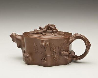 'Teapot with Squirrel and Grapevine Motif', 1993