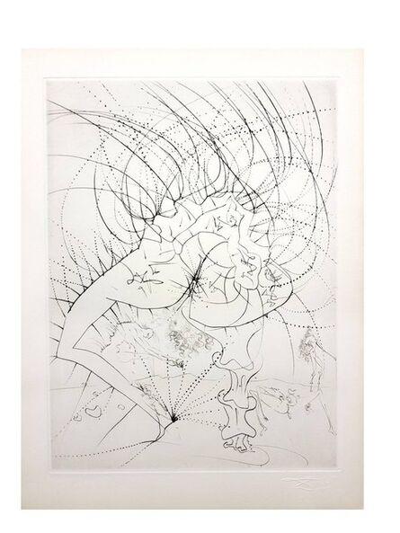 "Salvador Dalí, 'Original Etching ""Venus in Furs"" by Salvador Dali', 1968"