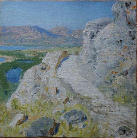 Vassily Dmitrievich Polenov, 'At the Sea of Galilee'