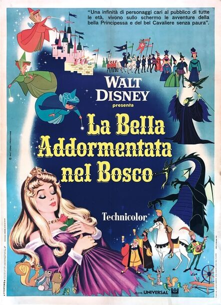 Serafini Studio, 'LA BELLA ADDORMENTATA NEL BOSCO', 1969