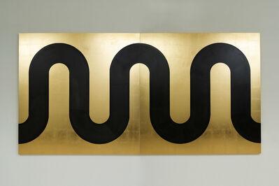 Edwin Monsalve, 'Gold River. Diptych', 2020