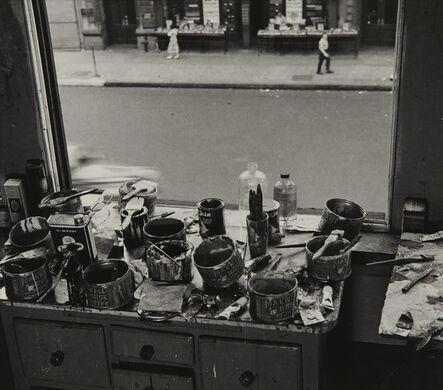 Rudy Burckhardt, 'Willem De Kooning Studio I', 1950