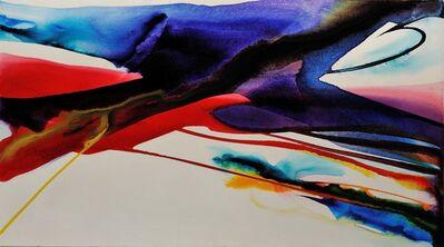 Paul Jenkins, 'Phenomena Measure Red', 1965