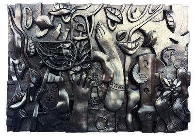 Fernand Léger, 'Les femmes au perroquet', 1952