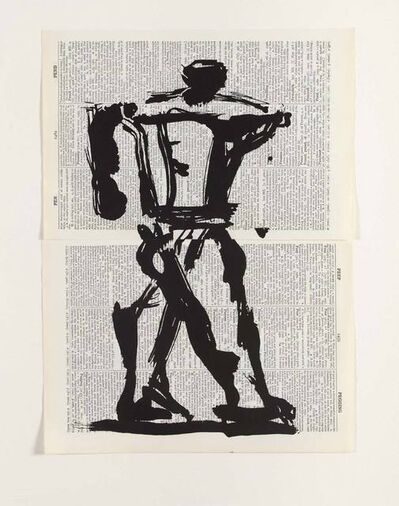 William Kentridge, 'UNIVERSAL ARCHIVE: REF. 23', 2012